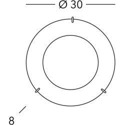 Feb 3, 2020 - Kolarz® Deckenleuchte Moon Ø 30 cm E27 Sun Copper Moon 1x 60 Watt, 8,00 cm, 30,00 cm A1306.11.4.SunC