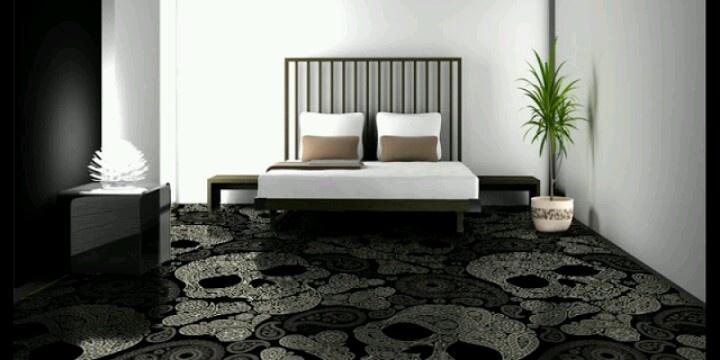 Skull carpet
