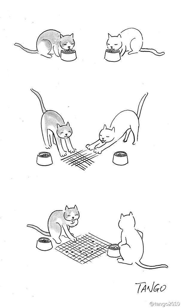 Shanghai Tango Creates Clever Illustrations of Animal Hijinks (10 comics)