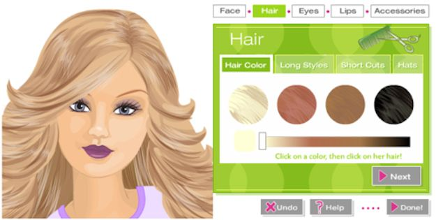 Barbie Makeover | 15 Online Games From Your Childhood That You Can Still Play