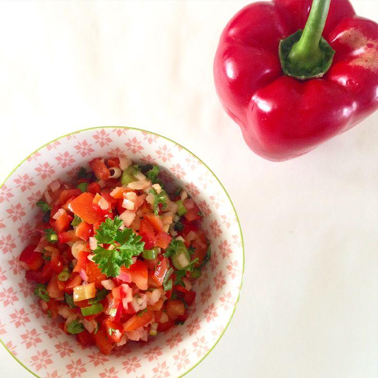 Recept voor heerlijke paprikasalsa
