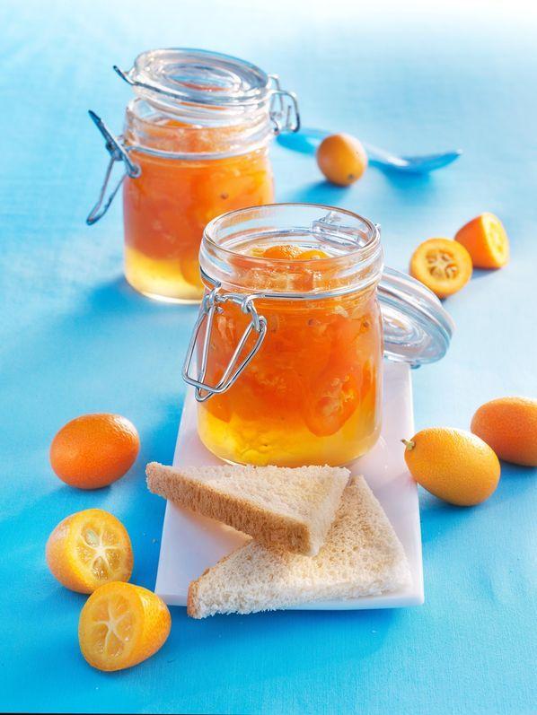 Kumquat-Marmelade mit Ingwer und Orangenlikör