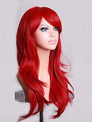 Fashion Color Cartoon Colored Wig Special Masquerade 70 CM Red Wig – USD $ 22.60