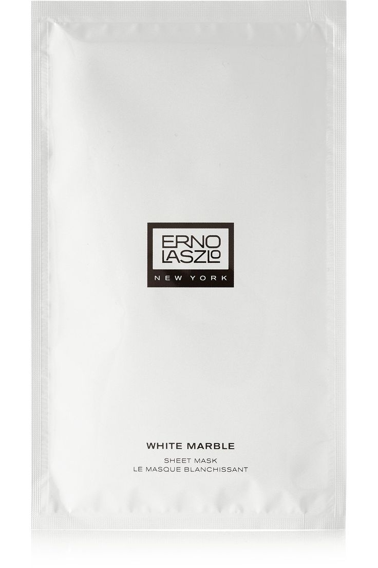 Erno Laszlo White Marble Sheet MasksWe suggest this sheet mask ($80) for special occasions. It controls your melanin production to reduce dark spots; after 10 minutes of use you'll look noticeably luminous.