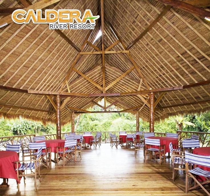 Restaurant : #Caldera #River #Resort Citarik , Sukabumi. Indonesia