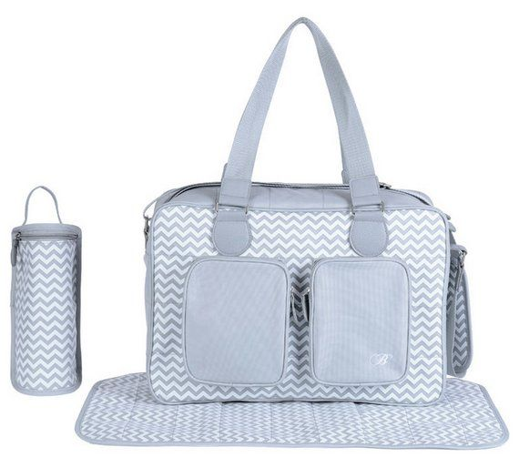 Buy My Babiie Billie Faiers Deluxe Grey Changing Bag at Argos.co.uk, visit Argos.co.uk to shop online for Changing bags, Baby changing, Bathing and changing, Baby and nursery