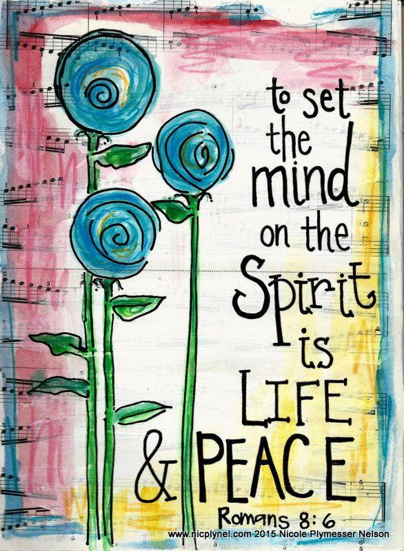 Romans 8:6 Mind on the Spirit by Nicole Plymesser Nelson