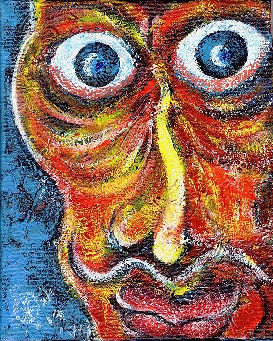 Senor PArano, a painting by Ion vincent Danu