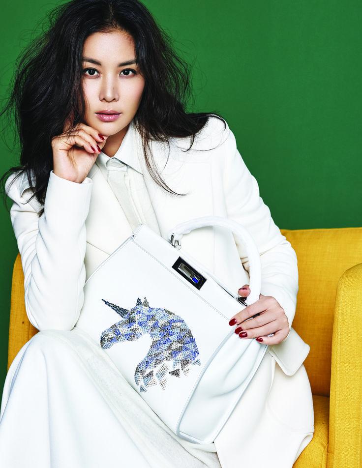 The Fendi Seoul Peekaboo Project with fashion icon Ko So-young