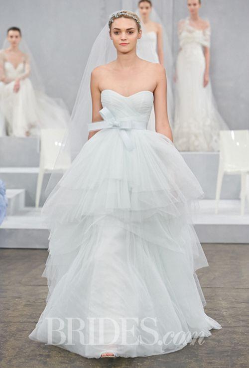 Brides: 4 Pastel Wedding-Dress Colors That Look Good on All Brides
