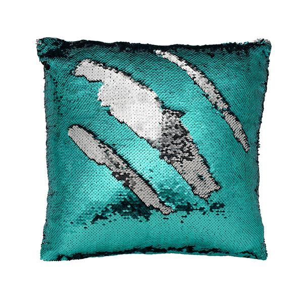 Color-changing Pillow Cover Teal
