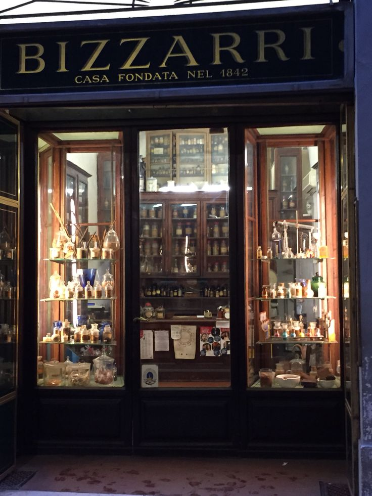 Old world store in Firenze Italy
