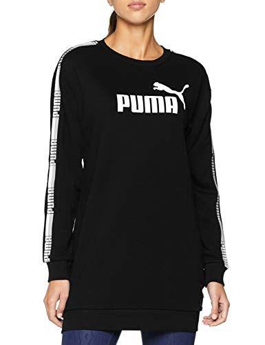 Puma Damen Tape TR Kleid Cotton Black M  e14990c3832