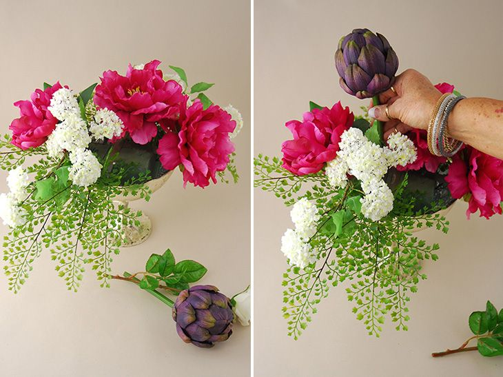 127 best silk flower arrangements images on pinterest silk flowers how to make silk flower arrangements for christmas with fake water in tall vases baskets bouquets table centerpieces for home church for xmas mightylinksfo Image collections