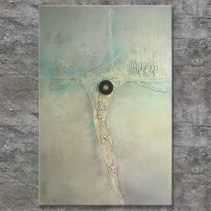 Annette Freymuth nettis-art  DEEP ROOTED Materialbild mit Strukur aus Marmormehl…