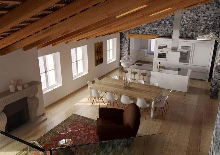 Un attico in un palazzo storico Lavori di