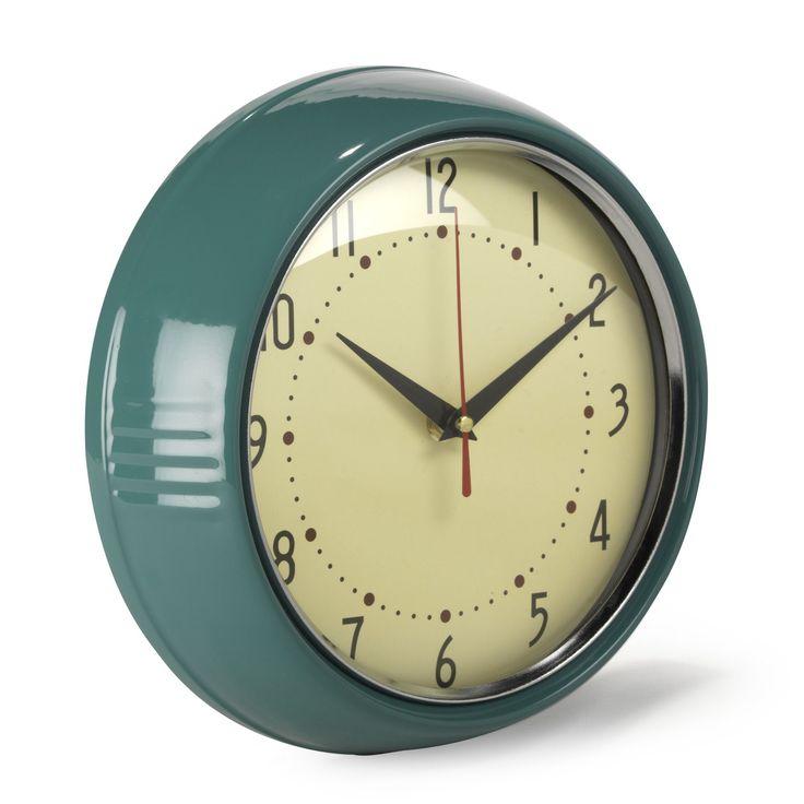 les 25 meilleures id es de la cat gorie horloges murales de cuisine sur pinterest horloges. Black Bedroom Furniture Sets. Home Design Ideas