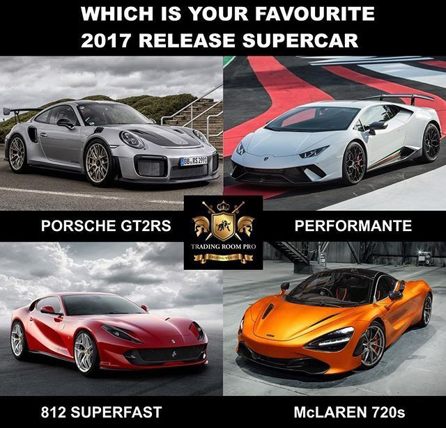 Comment on your favourite 2017 release car? Or is there another you would like to include. Whichever you choose, I hope you get it this year. Click the link in our bio and see how our algorithm is blowing the S&P 500, Dow Jones and Nasdeq out of the water. New market techniques and access to data has revolutionised how we trade so you can beat the bankers at their own game. Anyone can do it. Send a DM for a free report. -------------------------------------------------