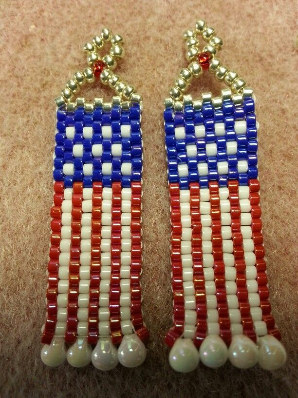 fourth of july earrings