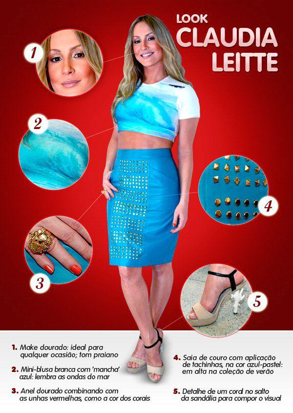 Looks Claudia Leite - The Voice Brazil