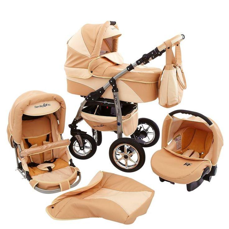 Artikelbild 3977 Daytona Eco Leather Pram & Pushchair