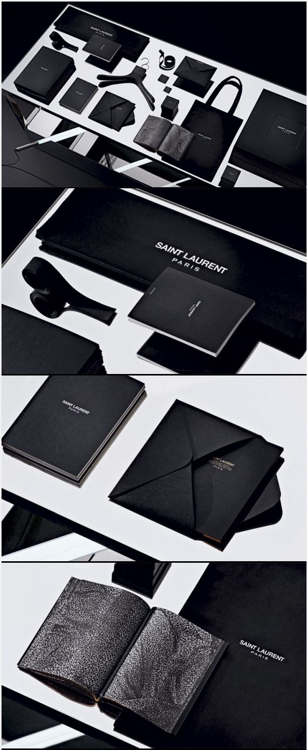 Saint Laurent, by Hedi Slimane, wins Wallpaper's 'Best Rebranding' award