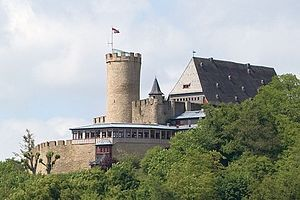Landgrafenschloss Biedenkopf, Hessen, Germany, my hometown, my parents house is a half mile behind the castle hill, nice restaurant and medieval collection