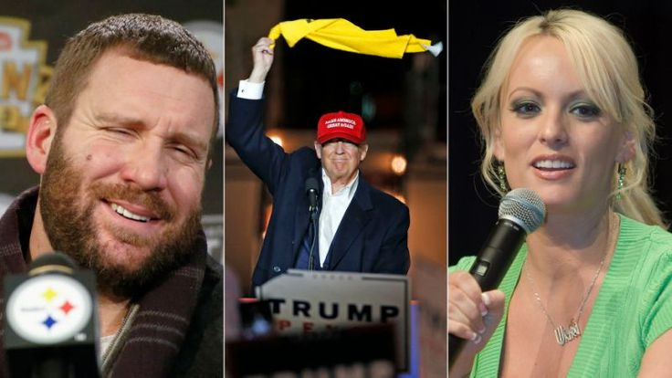 We live in a world Pittsburgh Steelers quarterback Ben Roethlisberger may be able to corroborate some of a porn star Stormy Daniels' account of an alleged affair with President Donald Trump.