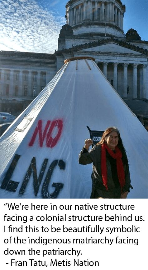 Seven indigenous women and several earth defenders have occupied the Washington State Capitol to address climate change and native treaty rights as the state legislature opens for session. The native women, who come from several tribes, are seeking that Governor Jay Inslee honor the treaties and...