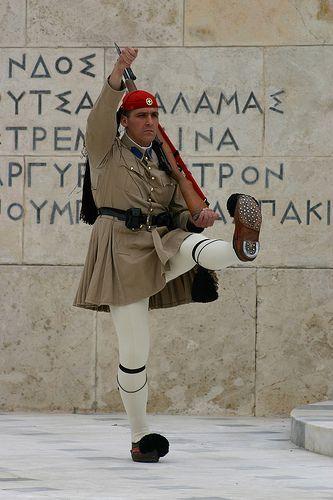 Greek Guard, Athens,-Greece