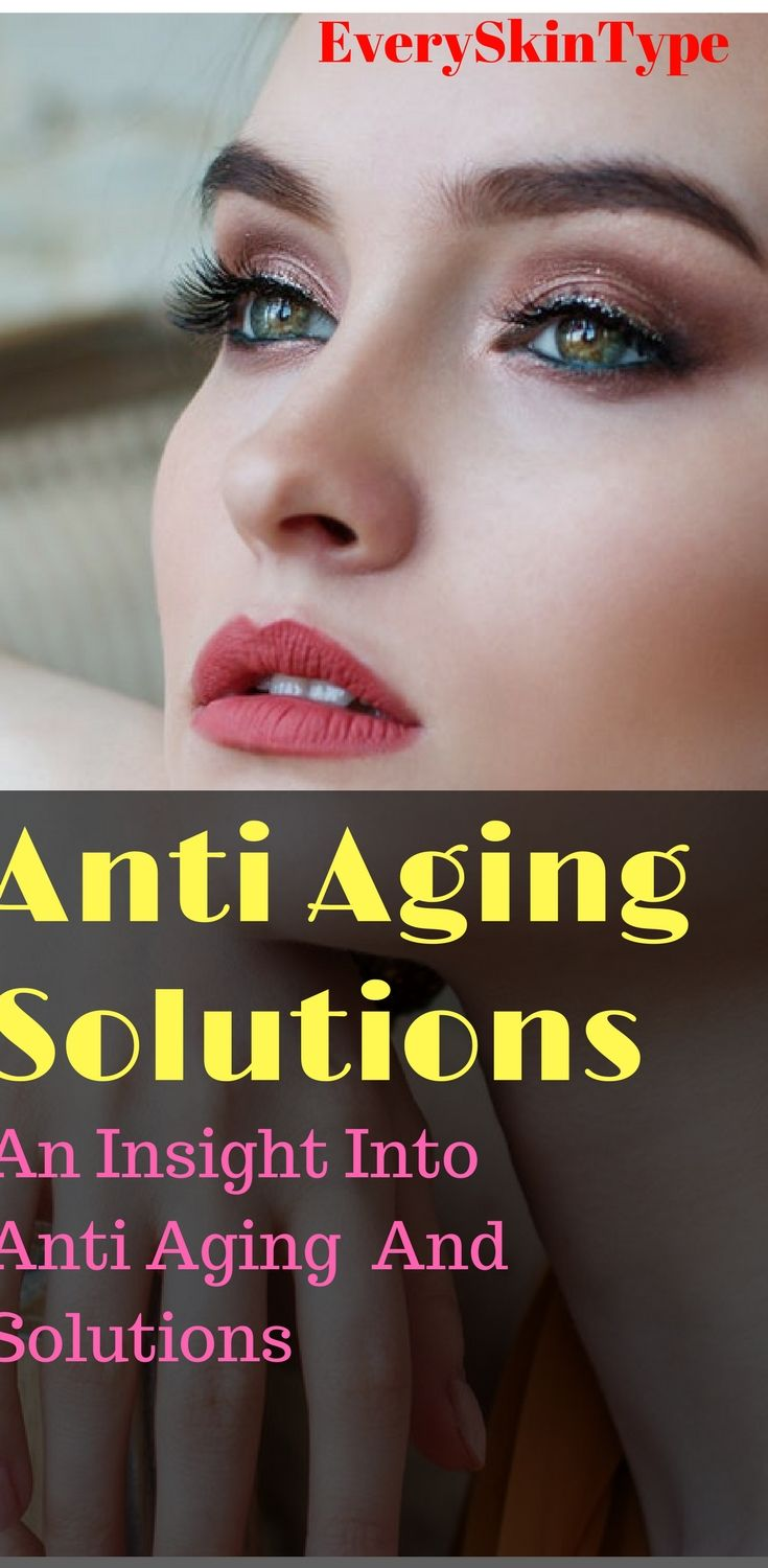 Anti Ageing Solutions Anti Aging Skin Care Diy Acne Treatment