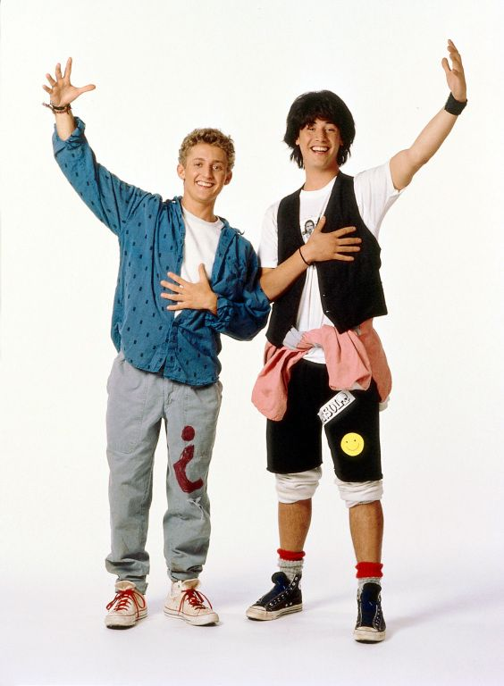 Bill and Ted's Excellent Adventure- next halloween!!