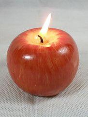 alma gyertyafényes születésnapi karácsonyi játékok romantikus ajándék konyha világítási eszköz 1 db / 2db