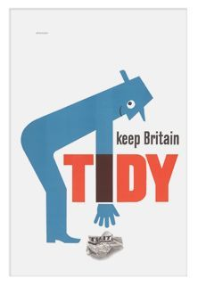 This 1960s Keep Britain Tidy poster by Tom Eckersley is just one of the prints on offer. This is a reproduction of original 1960s poster for the Ministry of Housing and Local Government, designed by eminent mid century graphic artist Tom Eckersley, which was used by councils across the UK during 1962 and 1963. Perfect for combating the litterbugs in your home in retro style. £9.50 from V Shop online.