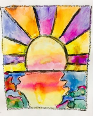Peter Max by 3rd Grade-Kim & Karen: 2 Soul Sisters (Art Education Blog): Peter Max-Maxed Out at the End of Year
