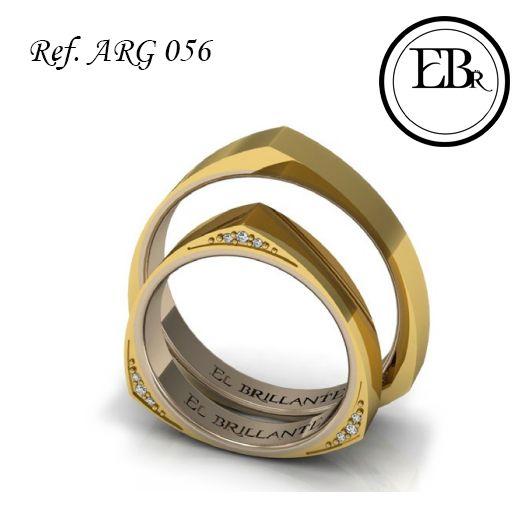 Queremos ser parte de tu alegría por eso #ElBrillanteJoyas siempre está a la vanguardia en diseños para tí. Ya conoces nuestras únicas argollas ARG 056 hechas en oro amarillo, rosado o blanco de 18 quilates, con 9 diamantes, de 0,01 cts? Precio par: $2,430,000  Anillos de compromiso y argollas de matrimonio www.elbrillantejoyeria.com.co