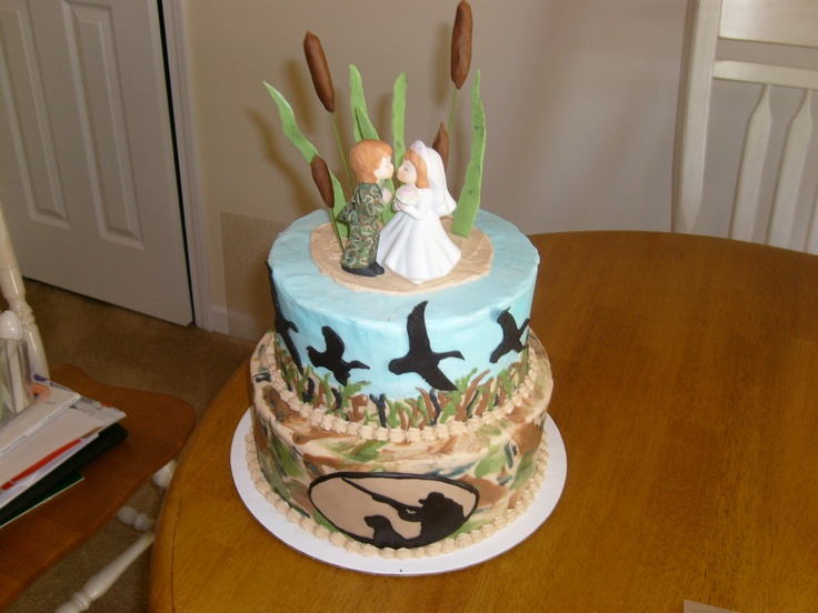 Hunting Grooms Cake | Cake Decorating! -For Mom ...