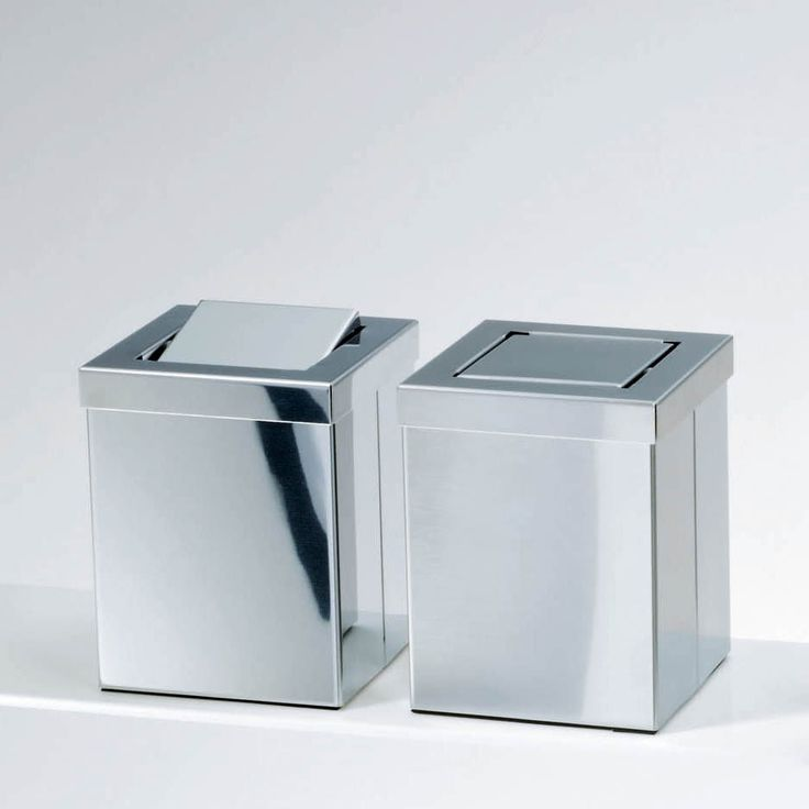 Exquisite designer high end modern luxurious table standing stainless steel waste basket with revolving cover. 10  ideas about Modern Waste Baskets on Pinterest   Product design