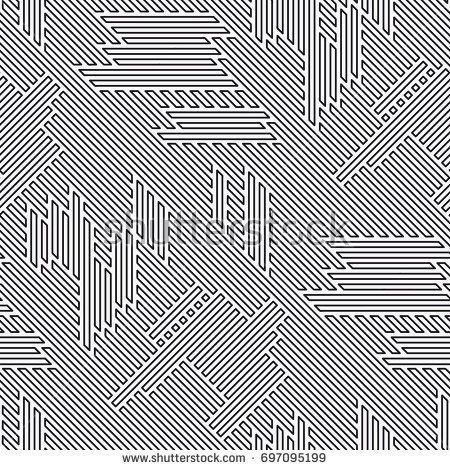 Vector seamless pattern. Regular abstract striped texture. Geometric pattern of straight lines.