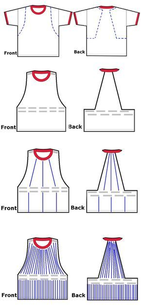 customização de camiseta com franjas