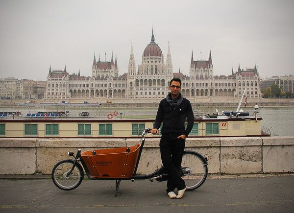It is a beautiful place in the heart of Budapest. I also think there are many places in a city you can discover by bike.