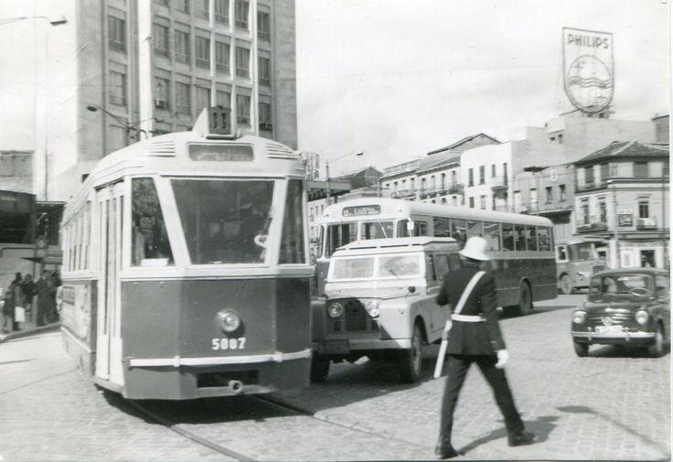 Madrid EMT 1964  11-5007, Glorieta del Cuatro Caminos, 19-4-1964.