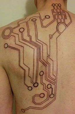 7547fe5b9164aa940c23ae5f1c7afa10 cyberpunk tattoo awesome tattoos 42 best circuit tattoo images on pinterest awesome tattoos Residential Electrical Wiring Diagrams at readyjetset.co