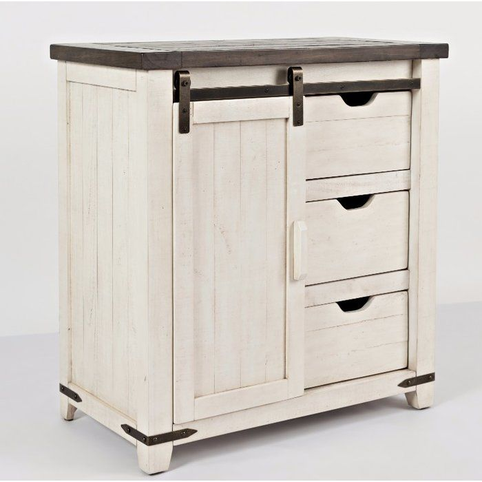Best Westhoff 1 Door Accent Cabinet Farmhouse Cabinets 400 x 300