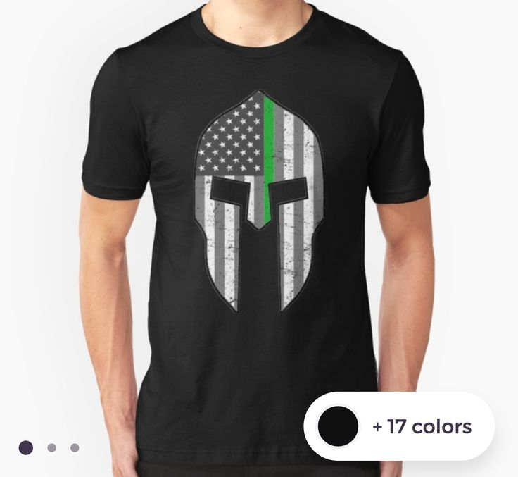 Thank you God and customer for this sale. Our American Spartan thin green line shirts. 25% of sales of this design will be donated to Veterans Charities. Veteran Owned. Molon Labe