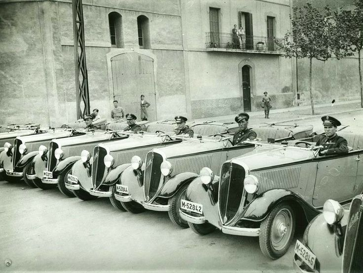 Barcelona, Policia. 1935