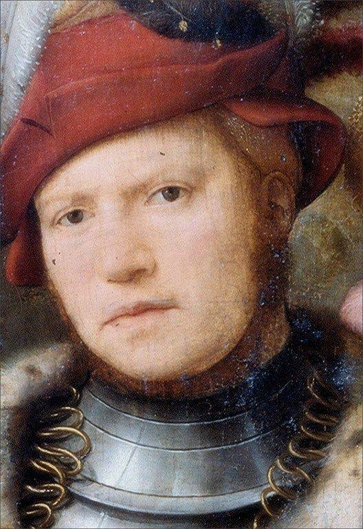 Joos van Cleve · Autoritratto · 1505-16 · National Museum · Warsaw