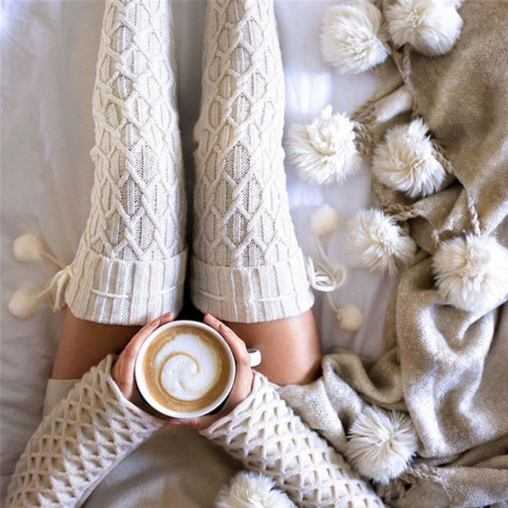 Women Winter Cable Knitted Over knee Long Boot Thigh-High Warm Socks Leggings