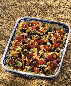 Tortino di miglio con verdure al basilico - Tutte le ricette dalla A alla Z - Cucina Naturale - Ricette, Menu, Diete