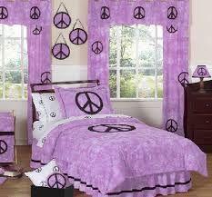 Purple Peace Bedroom